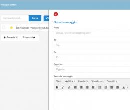 Nuovo messaggio email/Pec