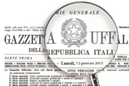 gazzetta ufficiale copia