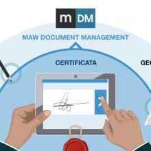 mDM integra la firma Georeferenziata InfoCert
